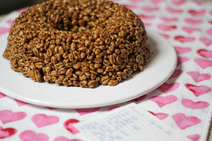 Puff Wheat Cake: The best way to say 'I Love You'